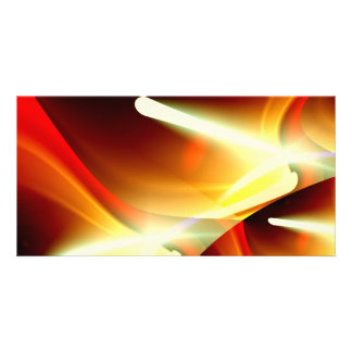 The Lights - Modern Abstract Sci-Fi Customized Photo Card