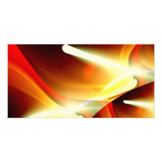 The Lights - Modern Abstract Sci-Fi Custom Photo Card