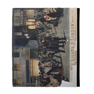 'The Lights O' London' (colour litho) iPad Folio Covers