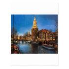 The Lights of Amsterdam Postcard