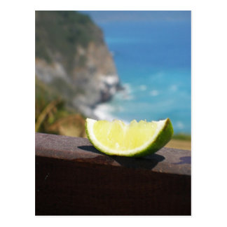 The Lime Postcard