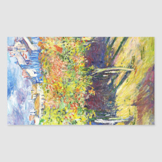 The Limes at Poissy Claude Monet cool, old, master Sticker