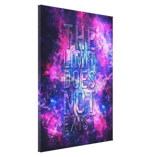 The limit does not exist. canvas print