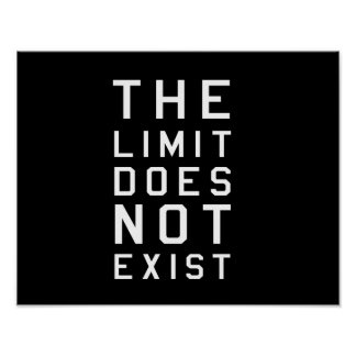 The Limit Does Not Exist Poster