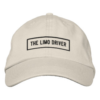The Limo Driver Headline Embroidery Embroidered Hat