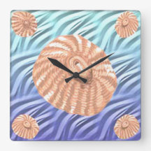The Limpets Square Wall Clock