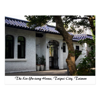 The Lin Yu-tang House,Taipei City,Taiwan Postcard
