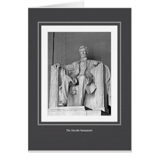 The Lincoln Monument Card