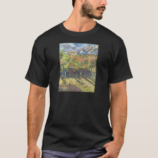 The Lindens of Poissy by Claude Monet T-Shirt