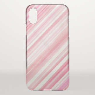 The Line Art Pink WAtercolors iPhone X Case