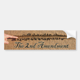 The line has been drawn bumper sticker