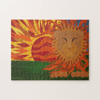 The Lion 14x11 Puzzle with Gift Box
