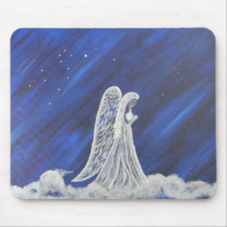 The Lion and the Angel Mouse Pad