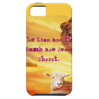 The Lion and the LAmb iPhone 5 Case