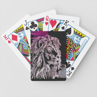 The Lion Bicycle Playing Cards
