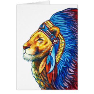 The Lion Chief Card
