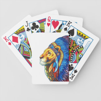 The Lion Chief Poker Deck