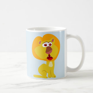 The Lion Is Different Coffee Mug