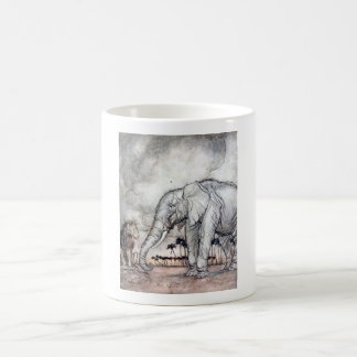 The Lion Jupiter and the Elephant Mug