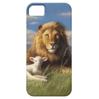 THE LION & LAMB iPhone 5 CASE