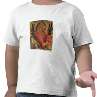 The Lion of St. Mark (oil on panel) Tees