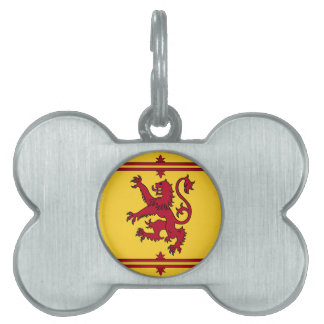 The Lion Rampant of Scotland Pet ID Tag