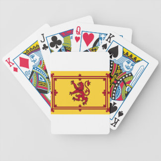 The Lion Rampant of Scotland Poker Deck