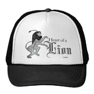 The Lion Rampant (Silver) Hats