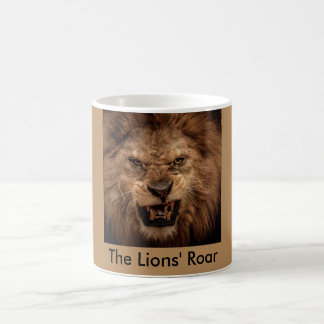 The Lion's Roar Coffee Mug