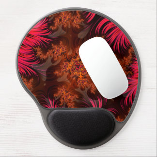 The Liquid Lava Heart of a Fractal Volcano Gel Mouse Pad