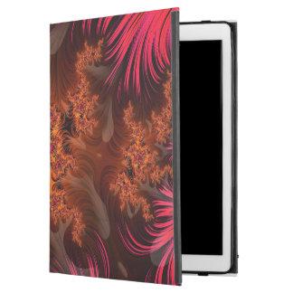 "The Liquid Lava Heart of a Fractal Volcano iPad Pro 12.9"" Case"