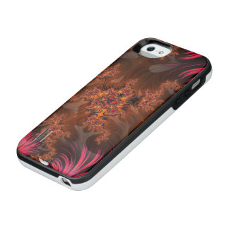 The Liquid Lava Heart of a Fractal Volcano iPhone SE/5/5s Battery Case