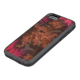 The Liquid Lava Heart of a Fractal Volcano Tough Xtreme iPhone 6 Case