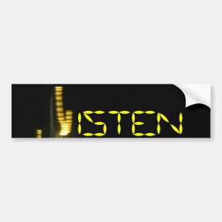 The Listen Bumper Sticker