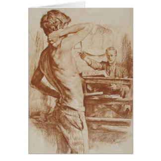 The Lithographer, 1892 Card