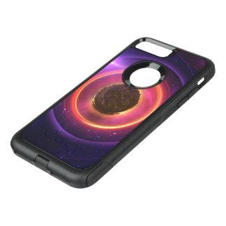 The Little Astronaut on a Tiny Fractal Planet OtterBox Commuter iPhone 8 Plus/7 Plus Case
