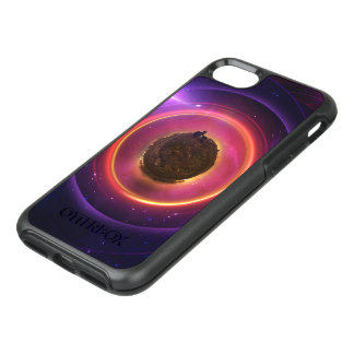 The Little Astronaut on a Tiny Fractal Planet OtterBox Symmetry iPhone 8/7 Case