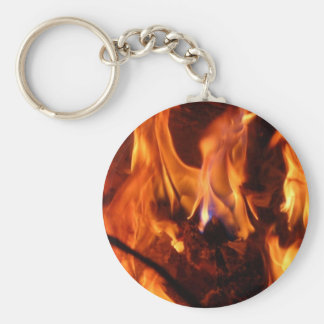 The little blue flame key ring
