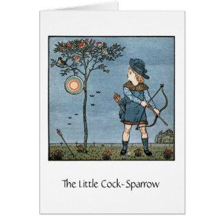 The Little Cock-Sparrow, Card