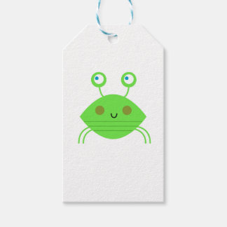 The little cute Crab on white Gift Tags