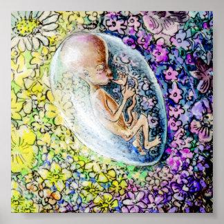 The Little Flower - detail Poster