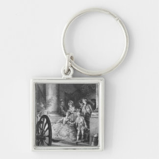 The Little Godfathers Key Ring