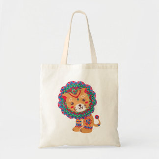 The Little King of the Jungle Tote Bag
