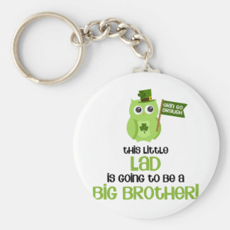 The Little Lad Big Brother Keychain