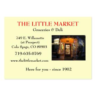 The Little Market Business Card Template
