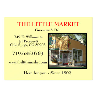The Little Market Picture 2 Business Cards