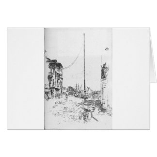 The Little Mast by James McNeill Whistler Card