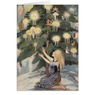 The Little Match Girl by Anne Anderson Card