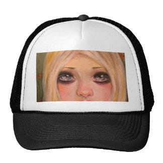 The little mergirl - a blonde mermaid trucker hat