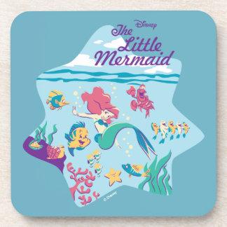 The Little Mermaid & Friends Coaster